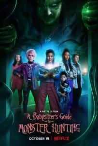 A Babysitter's Guide to Monster Hunting (2020) คู่มือล่าปีศาจฉบับพี่เลี้ยง NETFLIX